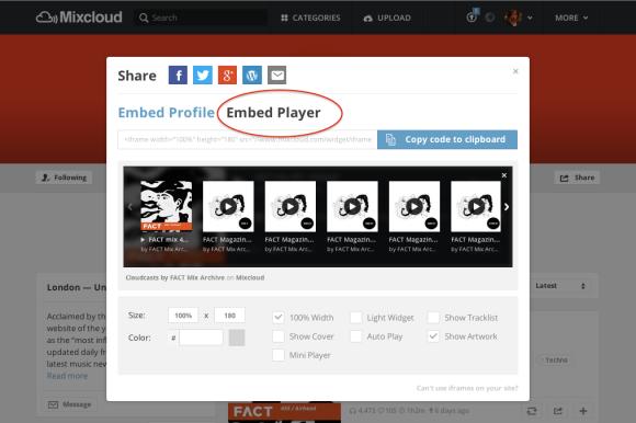 share all uploads