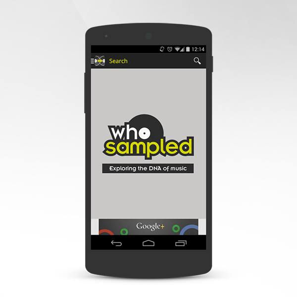 WhoSampled Android App