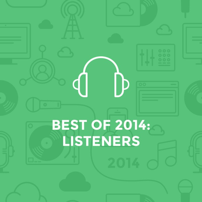 best of 2014 - listeners