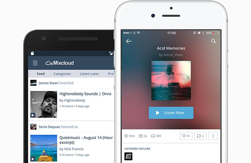 Mixcloud Revamps MobileApps