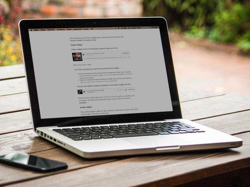 How to add Mixcloud widgets to yourwebsite